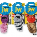 JW Cataction ตุ๊กตาแคทนิป มีเสียงก๊อบแก๊บ