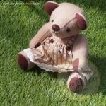 ตุ๊กตาหมีผ้าวูลท์ขนาด 21 cm. - Banoffee