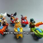 เลโก้ชิม่า มอเตอร์ไซค์ LELE CHIMA (แบบกล่อง) ครบเซ็ต 6 แบบ แถมการ์ดและอาวุธ
