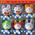 [Preorder] โมเดล Doraemon 1 เซ็ทมี 6 แบบ (Version 1)A Dream car Decoration doll Zodiac robot cat cartoon car accessories Tanabata Valentine's Day gift