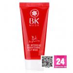 BK Intensive Brightening Jelly Mask 35g มาสก์บำรุงผิวหน้า เนื้อเจลลี่ อุดมด้วยสารสกัดจากธรรมชาติ ช่วยฟื้นฟูให้ผิวแข็งแรง ลดเลือนริ้วรอย จุดด่างดำ เผยให้ผิวเรียบเนียนกระจ่างใสอย่างเป็นธรรมชาติ พร้อมเติมความชุ่มชื้น ให้ผิวเนียนนุ่มน่าสัมผัส