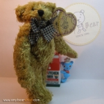 หมีเท็ดดี้ตัวผอม ขนาด 19 ซม.