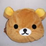 ถุงผ้าใบเล็กรูปน้องหมี rilakkuma ลิขสิทธิ์แท้ น่ารัก ขนนุ่มจ้า