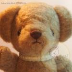 ตุ๊กตาหมีผ้าขนสีน้ำตาลเทาขนาด 23 cm. - Bloom