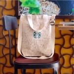 พร้อมส่งค่ะ กระเป๋าผ้าแคนวาส Starbucks สายปรับได้ ลิขสิทธิ์แท้