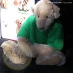 หมีสีขาว ขนาด 37 ซม.