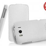เคสหนังแท้ HTC Sensation XL [E315e] ยี่ห้อ IMAK Flip Leather Case