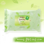 Etude House Happy Teatime Green Tea Cleansing Tissue (15 Sheet)