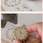 ตัวปั๊มนาฬิกา Clock Stamp เขียนเข็มเอง