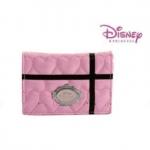 กระเป๋าสตางค์/ ใส่บัตร Disney Princess ลายหัวใจขนาดกระทัดรัด
