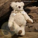 ตุ๊กตาหมีผ้าขนสีครีมขนาด 13 cm. - Cracker