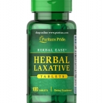 Puritan's Pride Herbal Laxative / 100 Tabs