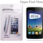 ฟิล์มกันรอย (ชนิดใส) Oppo Find Muse - R821