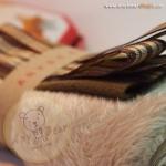 เซตผ้าขนKTสำหรับเย็บตุ๊กตาหมี - โทนสีน้ำตาล Buckskin color