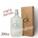 (น้ำหอมแท้100%) Calvin Klein CK one - Eau DE Toilette ขนาด 200 ml. เดโมเทสเตอร์ น้ำหอม unisex ที่มีเอกลักษณ์เฉพาะตัว