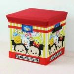 กล่องเก็บของพับได้ Tsum Tsum เป็นสตูลนั่งได้