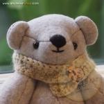 ตุ๊กตาหมีสีเทาขนาด 18 cm. - Lilac