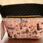 Sentimental Circus make up pouch