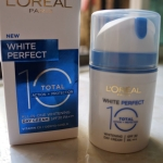 Loreal WhitePerfect 10 total day cream