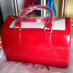 [Preorder] กระเป๋าถือแฟชั่น FURLA สี Big Red The factory outlets Italy FURLA Fulla candy bag candy bag of candy color multicolor into