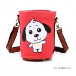 [Preorder] กระเป๋าสะพายข้างลายสัตว์ประจำปีนักษัตร ลายหมา (ปีจอ) North bag 2013 Korean version of the original cartoon Zodiac constellation pattern leisure Shoulder Messenger bag