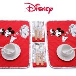 Disney Mickey Mouse เซ็ตผ้ารองจานและ napkins สำหรับ 2 ท่าน บรรจุมาใน original packageค่ะ
