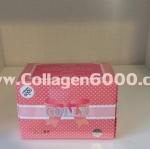 Colly Pink Collagen 6000mg (คอลลาเจน เกรดพรีเมี่ยมจากญี่ปุ่น 6000mg) ขนาดทดลอง 1 กล่อง (10ซอง/กล่อง)