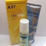 Berina -A37 สีบลอนด์อ่อนประกายทองเหลือบทอง