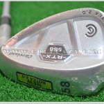 NEW CLEVELAND 588 RTX 2.0 CB SATIN CHROME WEDGE 58* LOB WEDGE