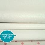 FB1 : ผ้ากากเพชรสีเงิน ขนาด 1/4 m (55 X50 cm)