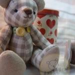 ตุ๊กตาหมีผ้าคอตตอนลินินขนาด 20 cm. - Easter