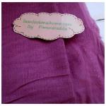 ผ้าลูกฟูกสีชมพูอมม่วง ลอนเล็ก ขนาดลอน2 มิลลิเมตรหาจากในไทยค่ะแบ่งขายขั้นต่ำ1/4m (50x55cm) = 1 จำนวน
