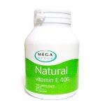 Mega We Care Natural Vitamin E 400 iu 30 แคปซูล สำเนา