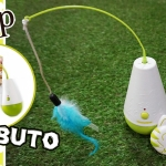 afp Interactive Culbuto ของเล่นขนนกอิเลคทรอนิค มีรีโมทบังคับ