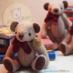 ตุ๊กตาหมีพวงกุญแจผ้าขูดขน ขนาด 9 cm. - PUFF