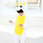ชุดยูนิคอร์นเด็ก สีขาวเหลือง *พร้อมส่ง*