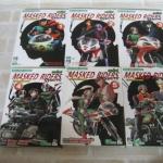 MASKED RIDERS SPIRITS ตํานานหน้ากากมด ( ภาคใหม่ ) ชุด เล่ม 1-6