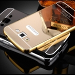 Luxury Mirror Cover with Bumper for Samsung Galaxy A7