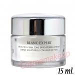 Lancome BLANC EXPERT Beautiful Skin Tone Brightening Cream 15 ml.ครีมบำรุงผิวสำหรับกลางวันมอบความชุ่มชื้นล้ำลึก เพื่อผิวขาว กระจ่างใส ปรับโทนสีผิวให้กระจ่างใสขึ้นอย่างเห็นได้ชัด
