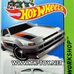 รถเหล็ก HOT WHEELS TOYOTA COROLA AE-86
