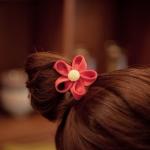 ที่รัดผมรูปดอกไม้หลากสี งานเกาหลีเกรด A