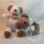 ตุ๊กตาหมีเซตของขวัญ 2 ชิ้น สำหรับเด็ก