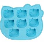 [Preorder] ที่ทำน้ำแข็ง Hello Kitty สีฟ้า Creative KT cat ice lattice (2 อัน/แพ็ค)