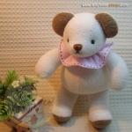 ตุ๊กตาหมีผ้าขนหนูขนาด 18 cm. - Niza Baby Girl