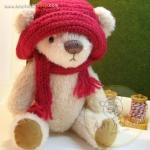 ตุ๊กตาหมีผ้าขนสีครีมขนาด 23 cm. - Bloom