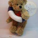 หมีเท็ดดี้เล่นน้ำ ขนาด 20 ซม.