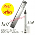 NO 7 RADIANT GLOW UNDER EYE CONCEALER 2.5 ML.