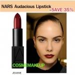ลด35% เครื่องสำอาง NARS Audacious Lipstick สี JEANNE(ของแท้ เคาเตอร์ไทย) ลิปนาร์สสูตรใหม่ limted SEMI - MATTE ให้ผลลัพธ์ที่แบบเรียบ-ติดทน-บำรุง-อวบอิ่ม