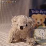ตุ๊กตาหมีผ้าขนสีครีมขนาด 5 cm. - BB bear