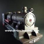 รถไฟจำลอง ชุด หัวรถจักรไอน้ำ+โบกี้โดยสาร No.5